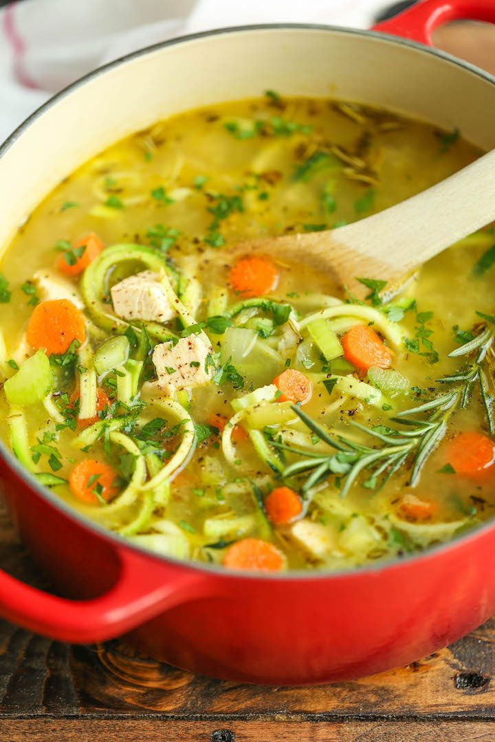 Low Carb Chicken Soup Recipes  9 Low Carb Soup Recipes to Stay Warm and Full of Energy