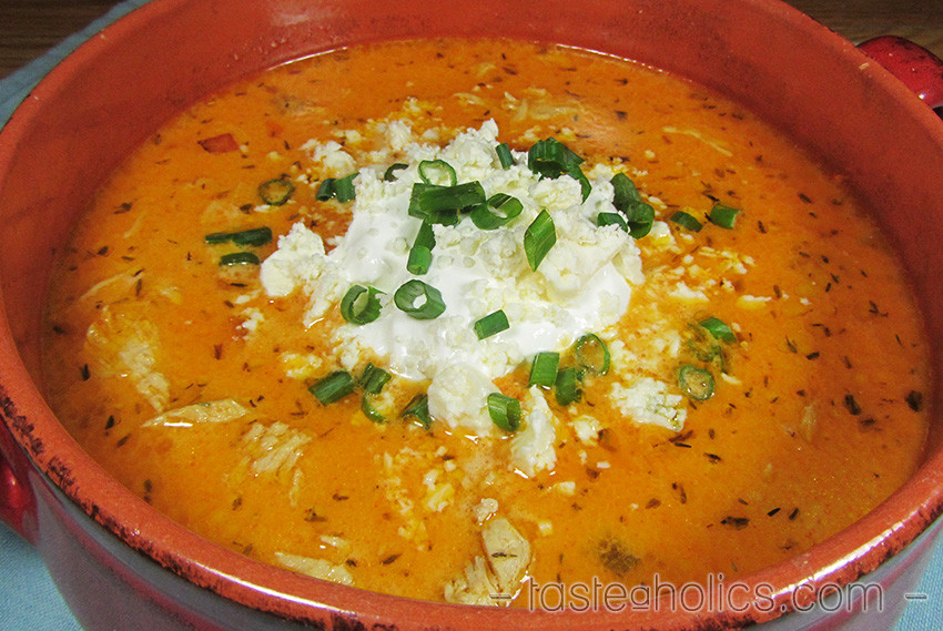 Low Carb Chicken Soup Recipes  Buffalo Chicken Soup Low Carb