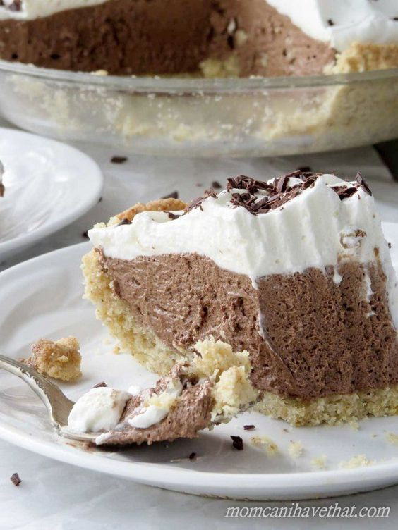 Low Carb Chocolate Desserts  Low Carb French Silk Pie is 4 net carbs per serving