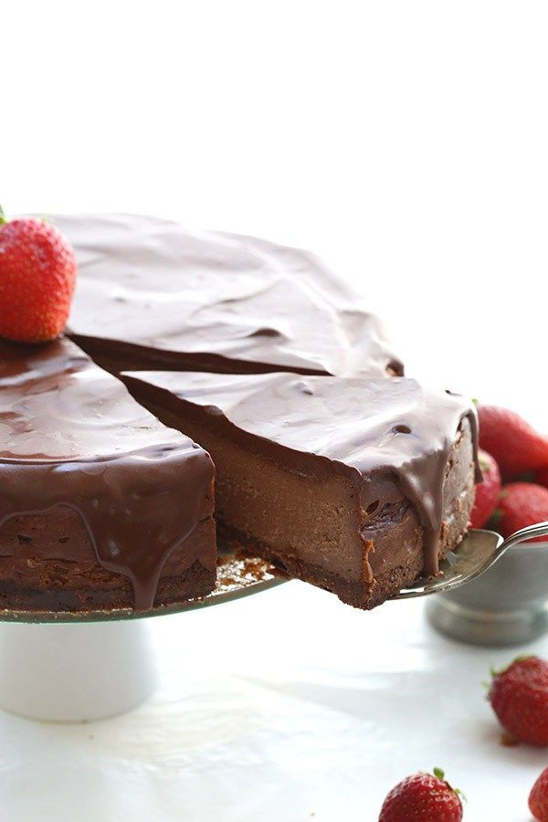 Low Carb Chocolate Desserts  Best low carb chocolate cheesecake recipe