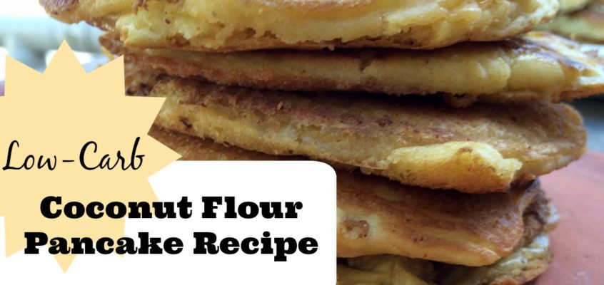 Low Carb Coconut Flour Pancakes  Recipes Archives Page 2 of 6 Primal Edge Health