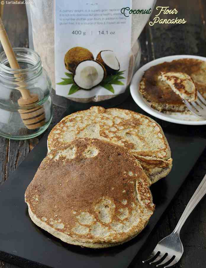 Low Carb Coconut Flour Pancakes  Coconut Flour Pancakes Low Carb Coconut Pancakes recipe