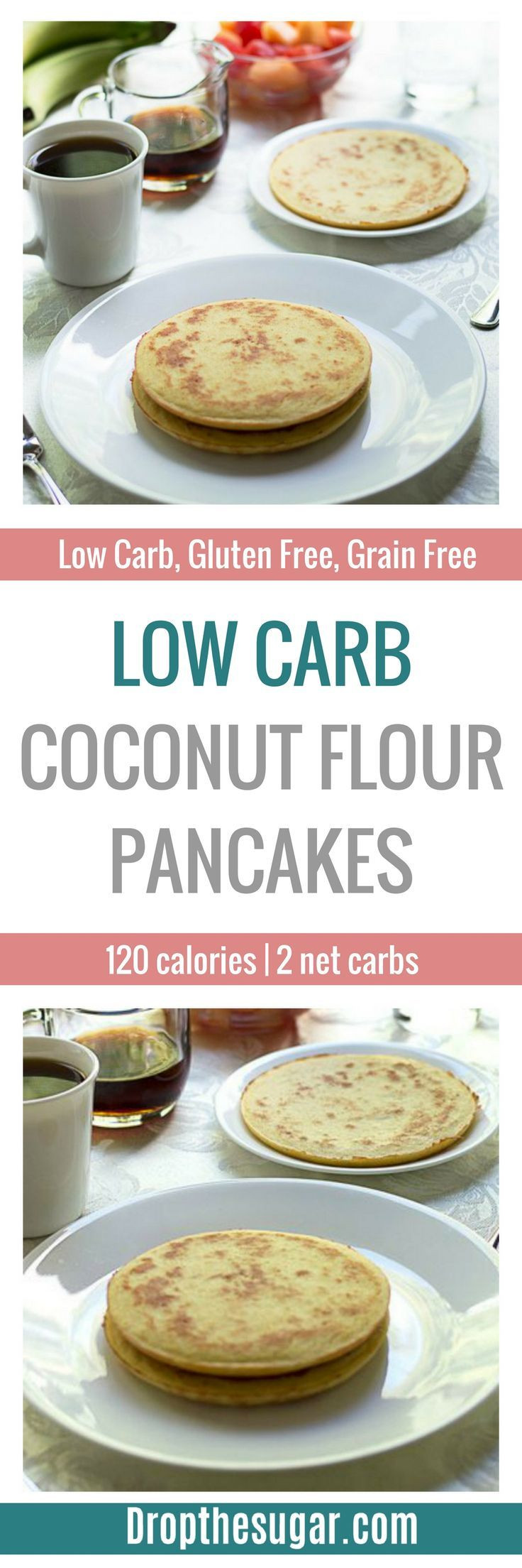 Low Carb Coconut Flour Pancakes  Low Carb Coconut Flour Pancakes