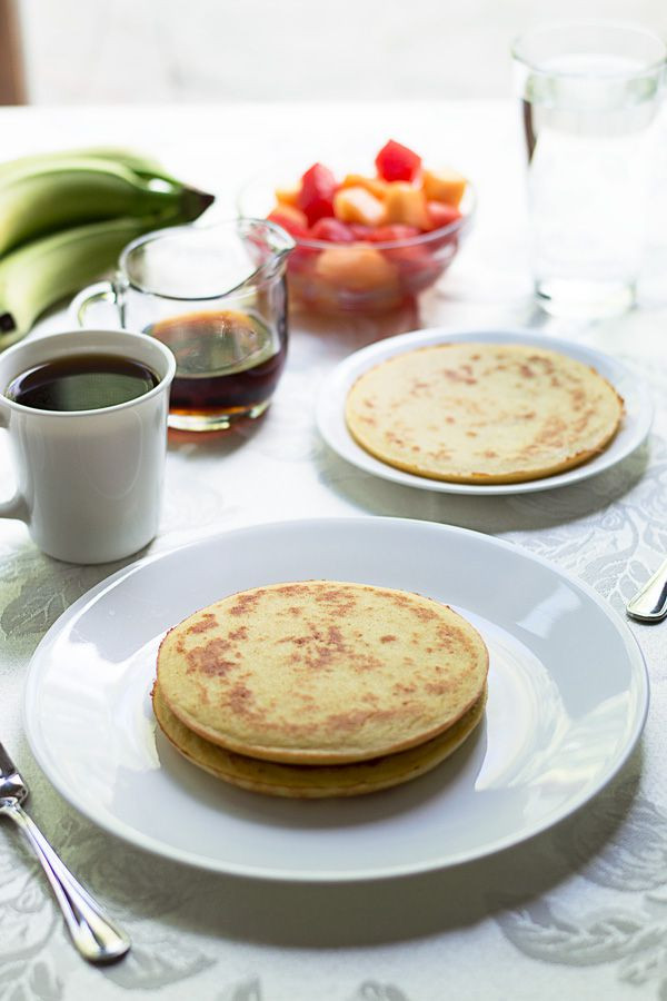 Low Carb Coconut Flour Pancakes  coconut flour pancakes low carb
