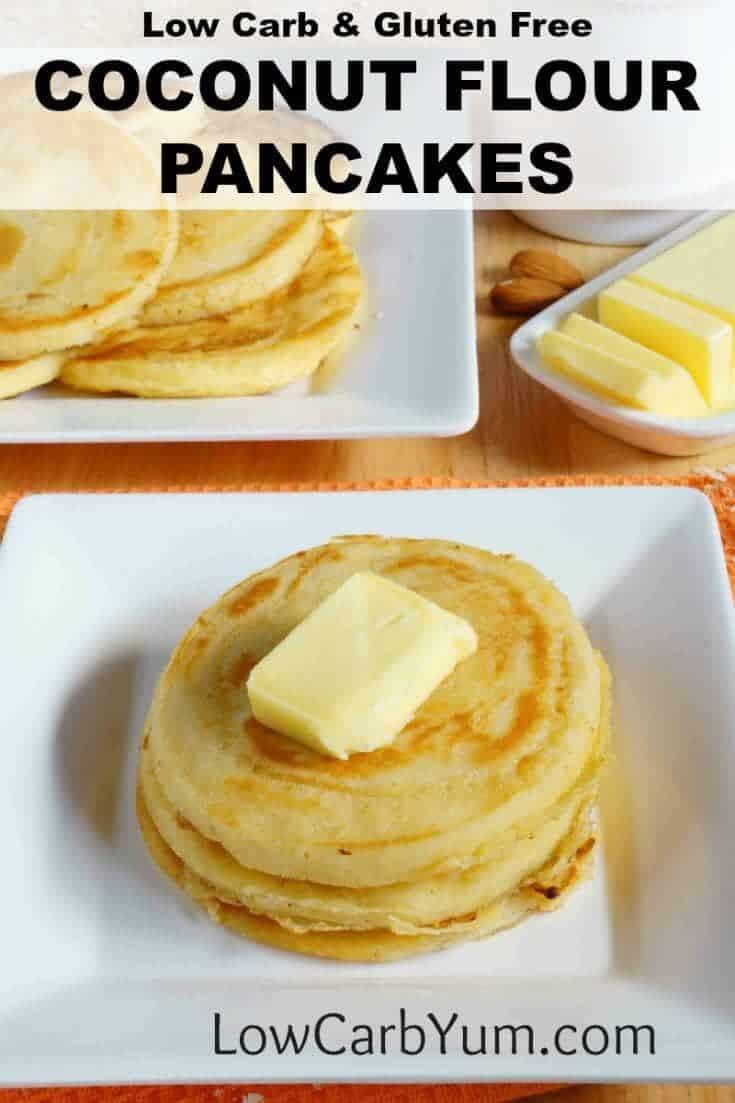 Low Carb Coconut Flour Pancakes  Low Carb Coconut Flour Pancakes Gluten Free