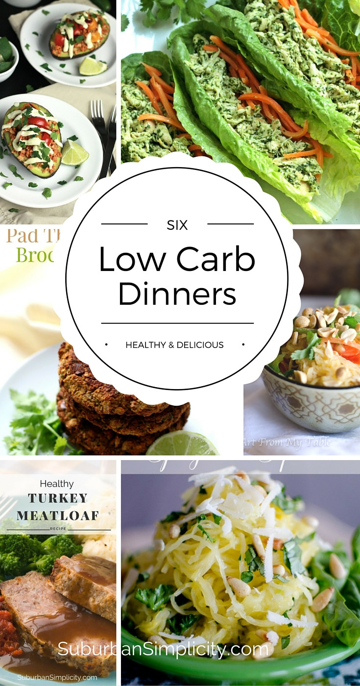 Low Carb Dinner Meals  Low Carb Dinners Healthy & Delicious Suburban Simplicity