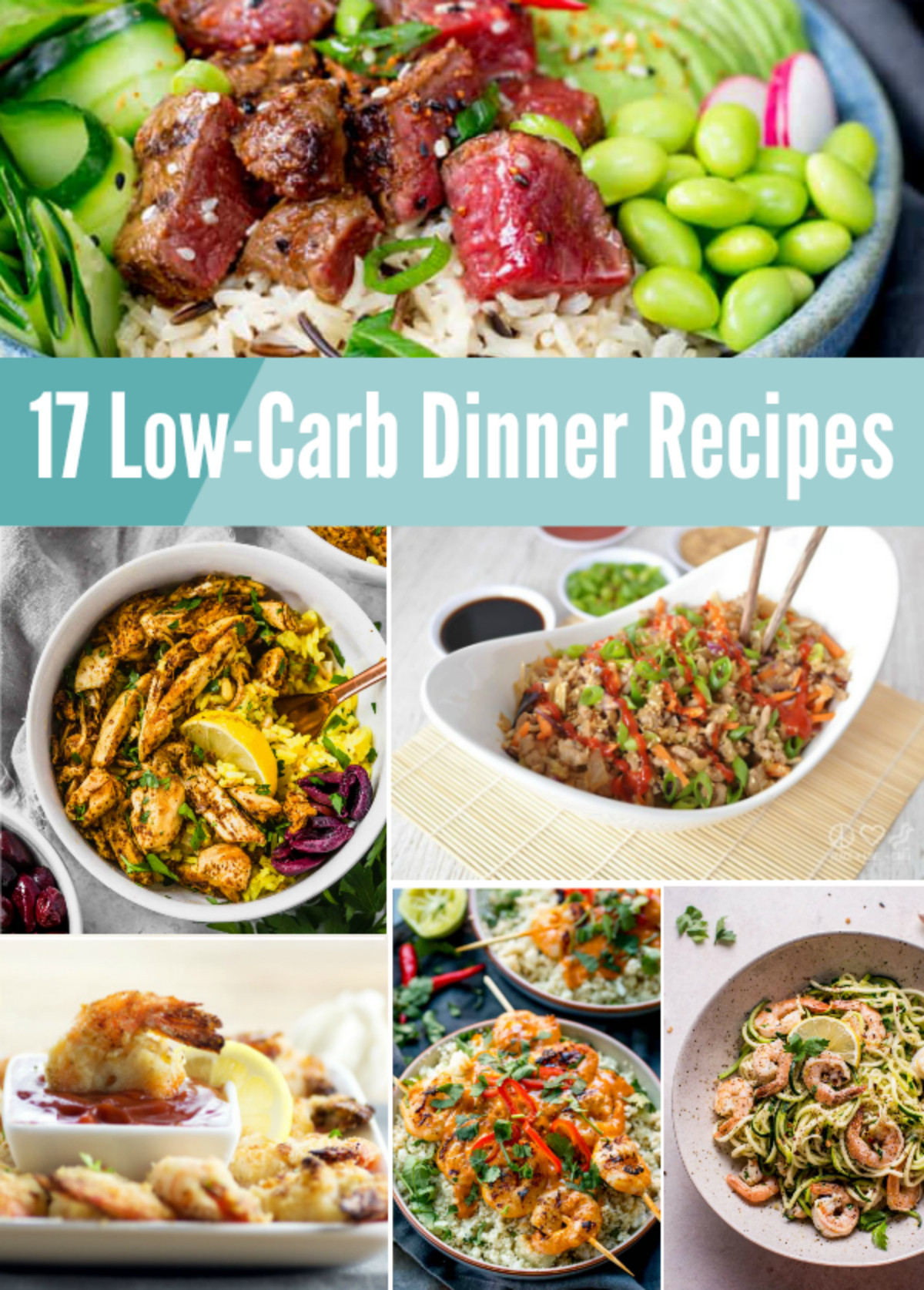 Low Carb Dinner Options  17 Low Carb Dinner Recipes from MamaMommyMom