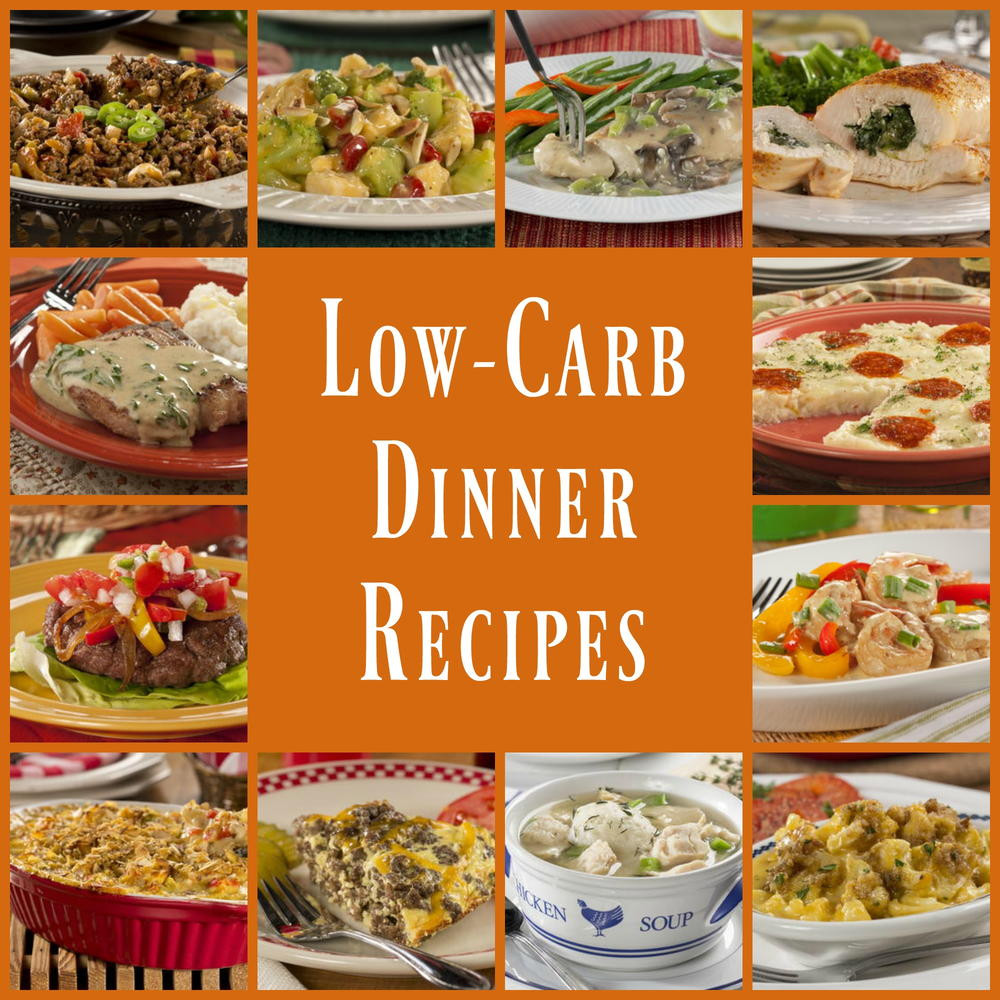 Low Carb Dinner Recipes  Low Carb Dinners 45 Healthy Dinner Recipes