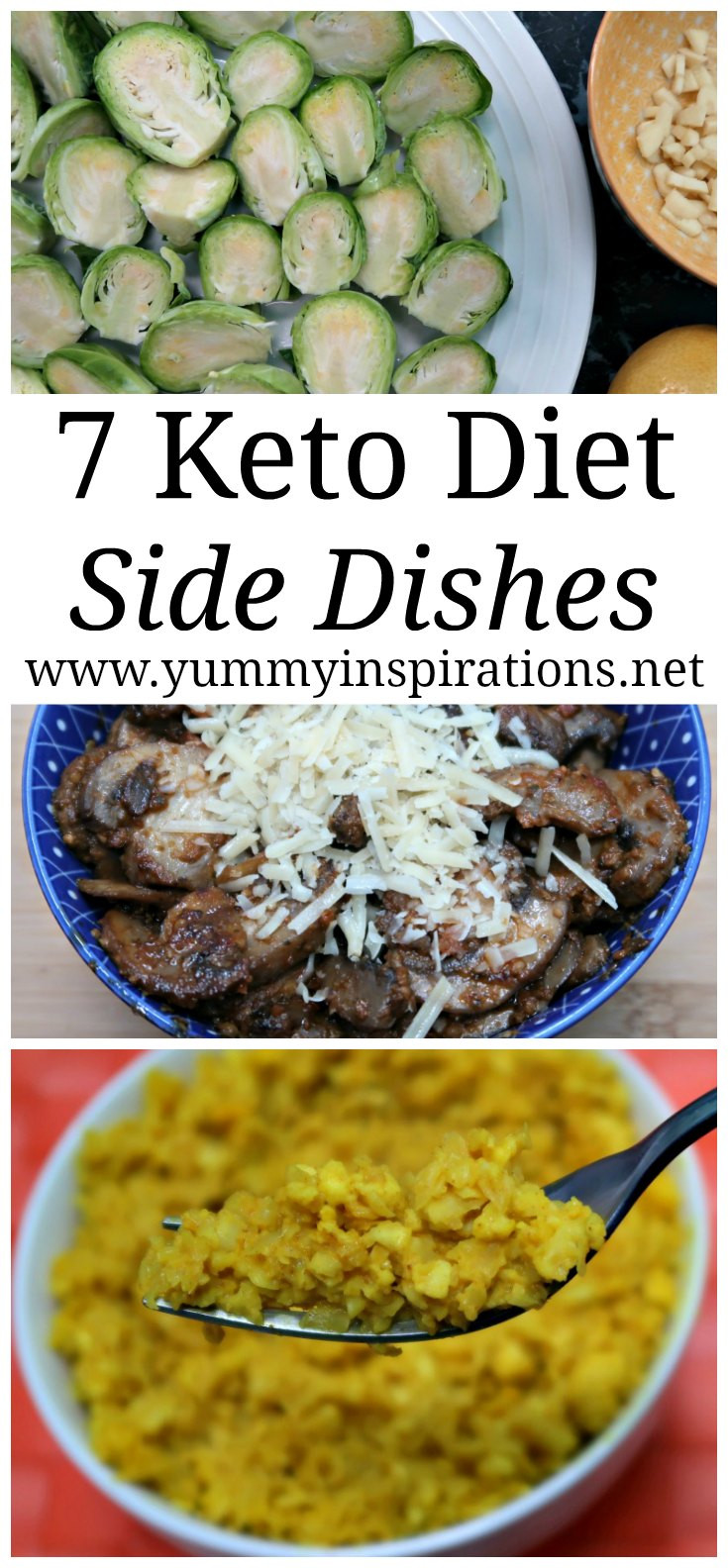 Low Carb Dinner Sides  7 Keto Side Dishes Easy Low Carb Sides LCHF Recipes