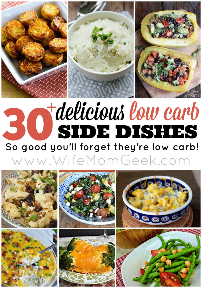 Low Carb Dinner Sides  50 Low Carb Snack Ideas