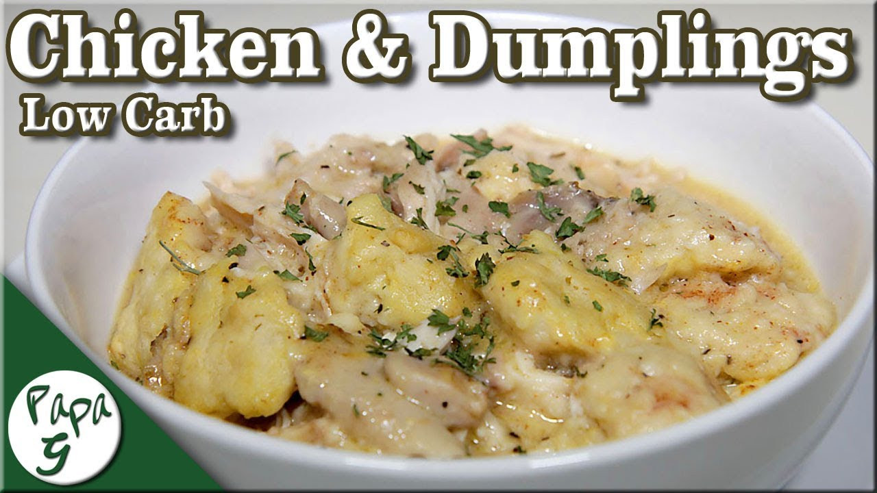 Low Carb Dumplings  Low Carb Chicken and Dumplings A Simple and Easy Keto