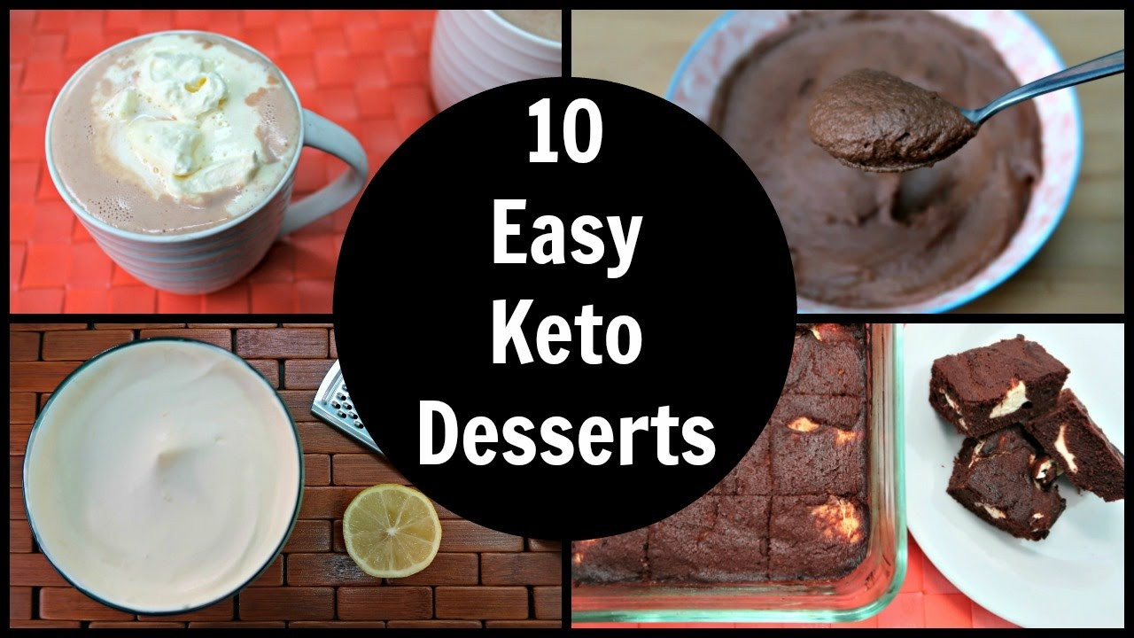 Low Carb Easy Desserts  10 Easy Keto Desserts
