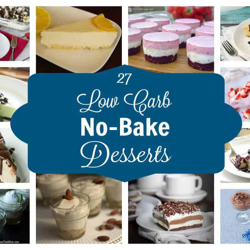 Low Carb Easy Desserts  Easy No Bake Low Carb Desserts