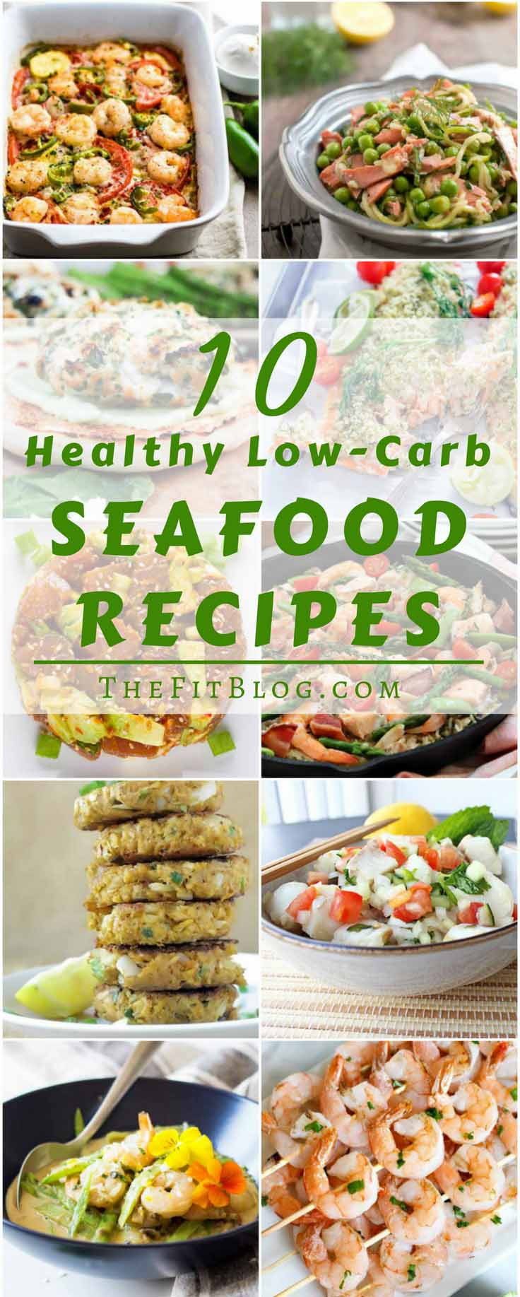 Low Carb Fish Recipes  10 Healthy Low Carb Seafood Recipes