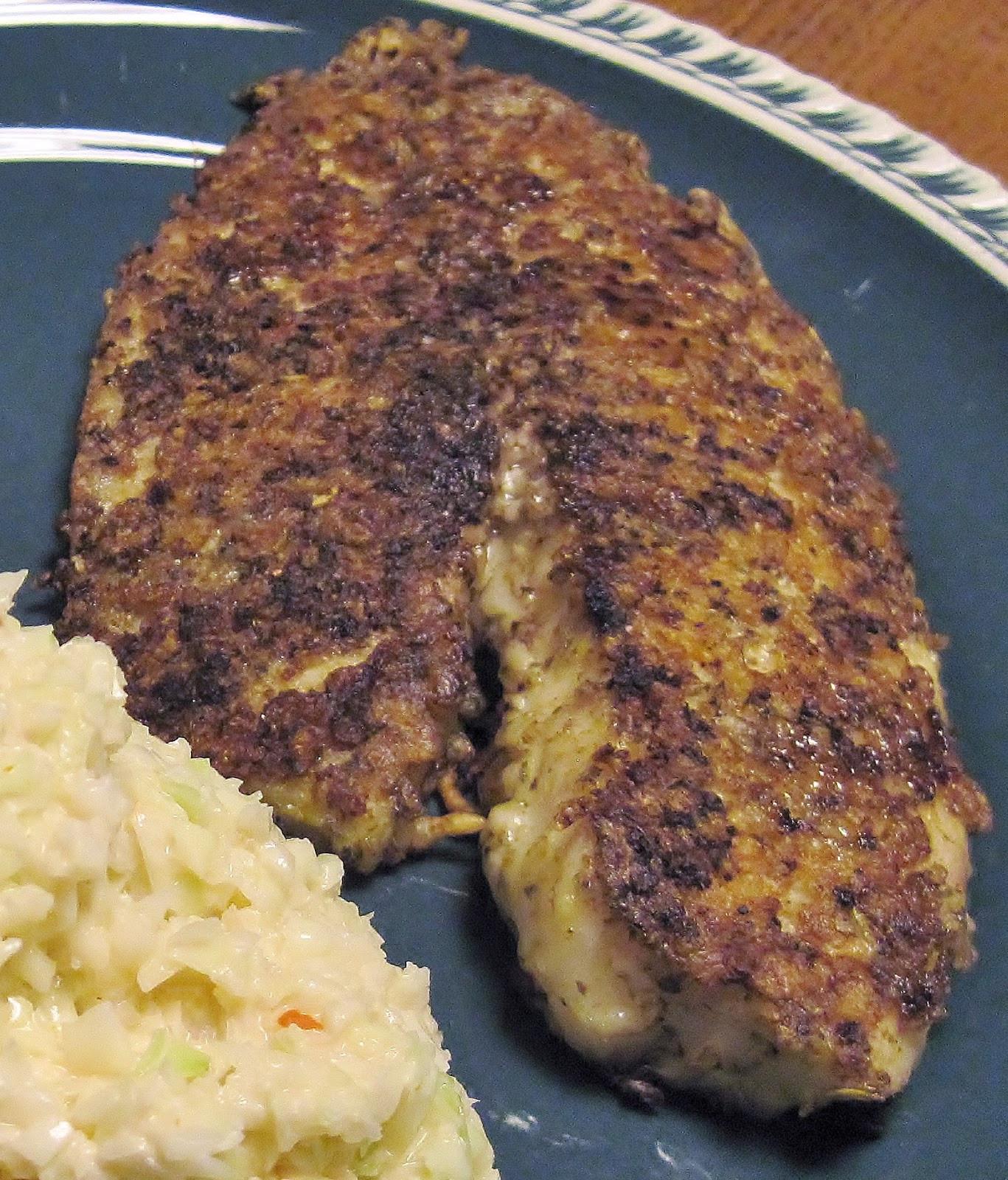 Low Carb Fish Recipes  Carolina Sauce pany Low Carb Recipe Parmesan Crusted Fish