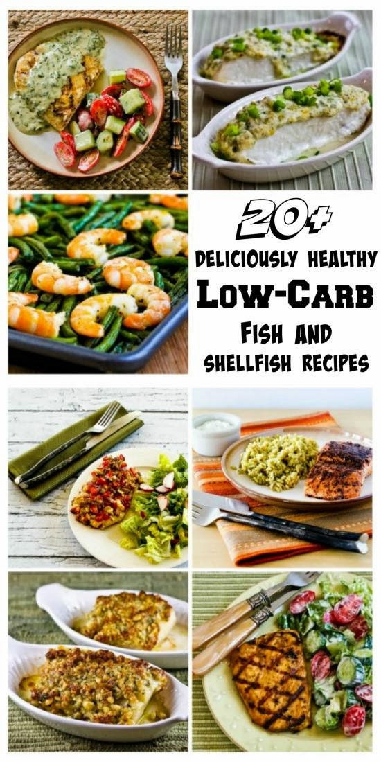 Low Carb Fish Recipes  Kalyn s Kitchen 20 Deliciously Healthy Low Carb Fish