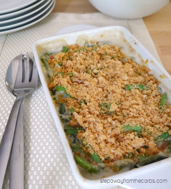 Low Carb Green Bean Casserole  Low Carb Green Bean Casserole Step Away From The Carbs