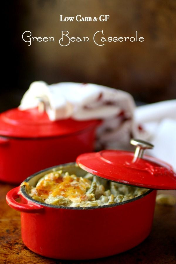 Low Carb Green Bean Casserole  Low Carb Green Bean Casserole Recipe lowcarb ology