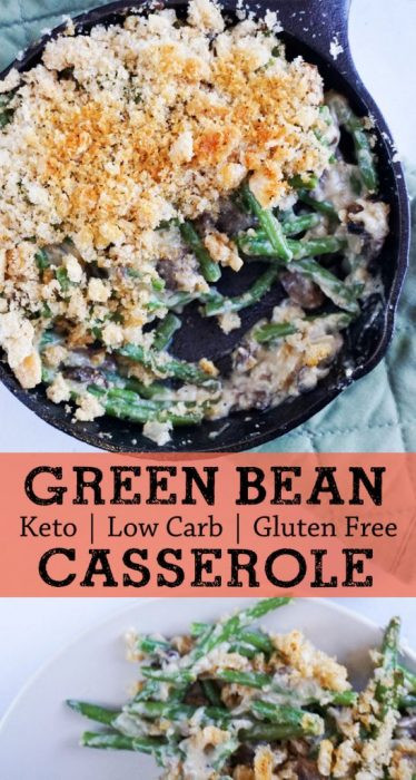 Low Carb Green Bean Casserole  Low Carb Green Bean Casserole KetoConnect