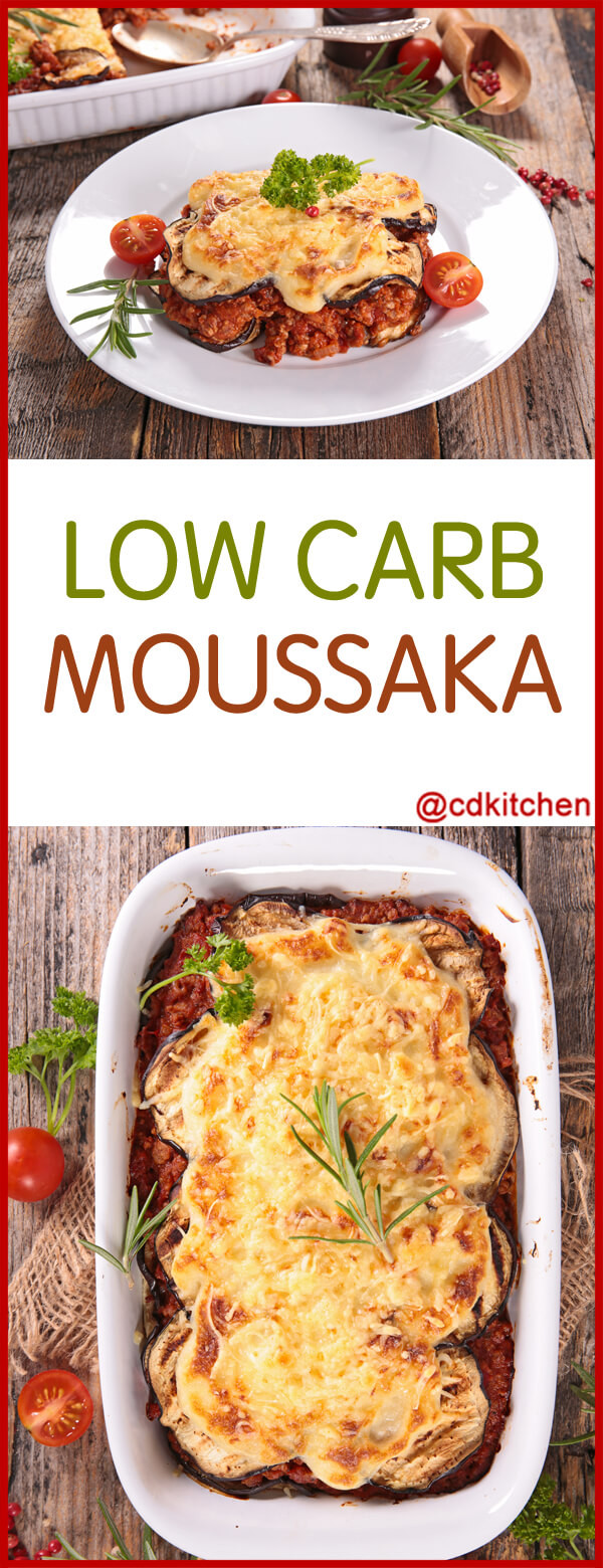 Low Carb Ground Beef Recipes Cream Cheese  Low Carb Moussaka Recipe