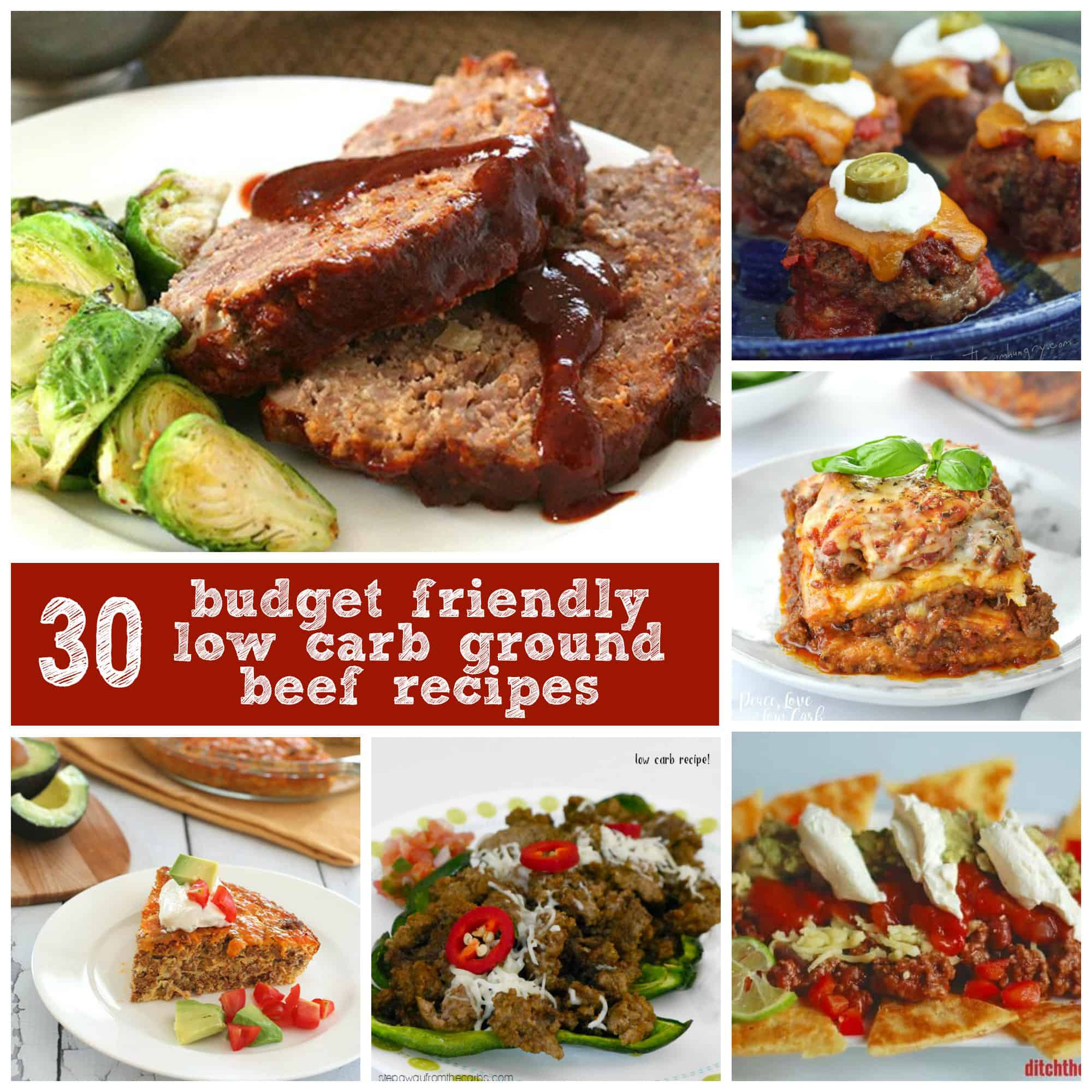 Low Carb Ground Beef Recipes  low carb beef tips recipe