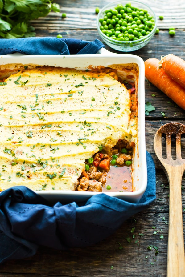 Low Carb Ground Turkey Recipes  Ground Turkey Shepherd s Pie