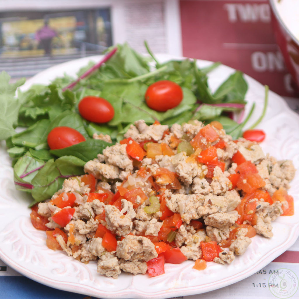 Low Carb Ground Turkey Recipes  Organic Ground Turkey High Protein Low Carb Meal