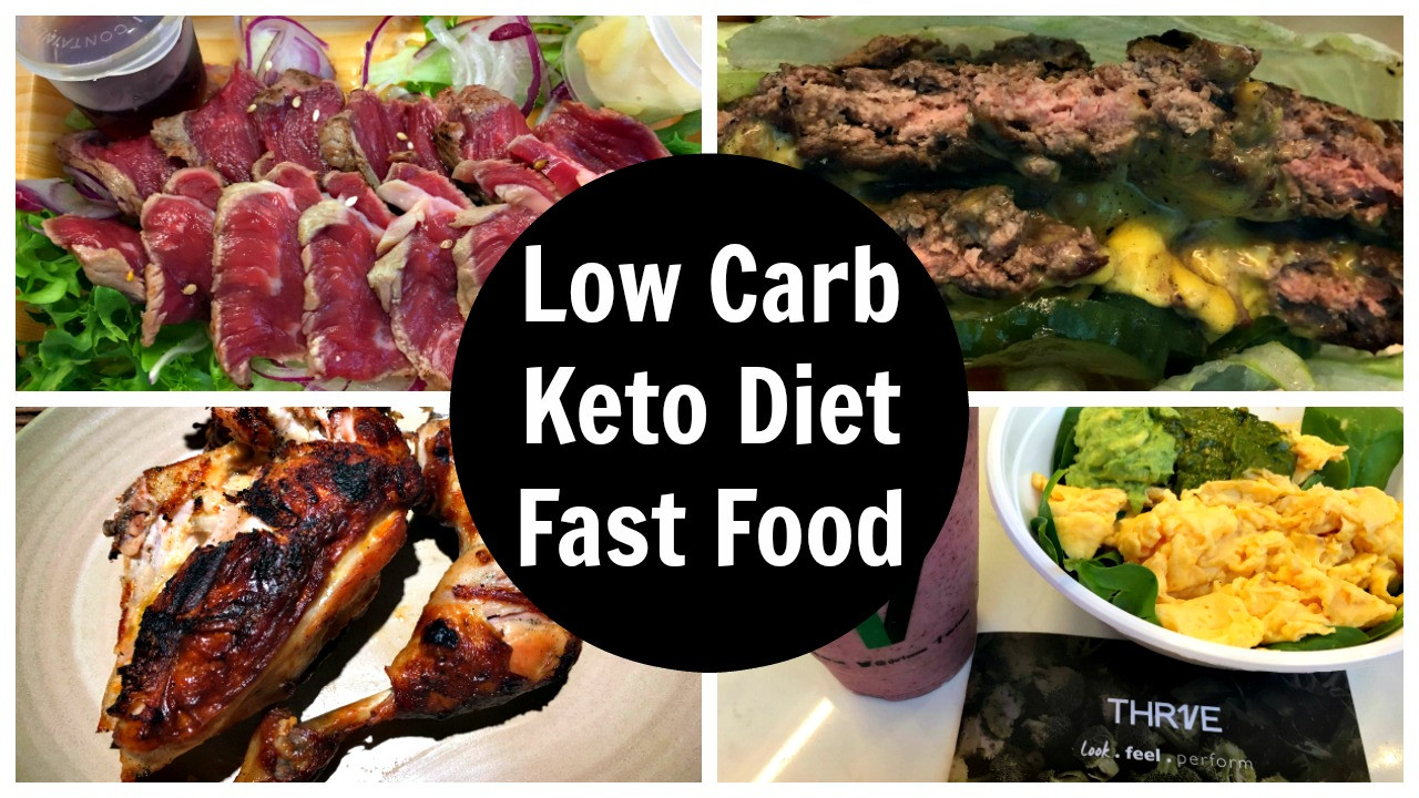 Low Carb Keto Diet  Low Carb Fast Food Options Keto Friendly Fast Food The Go