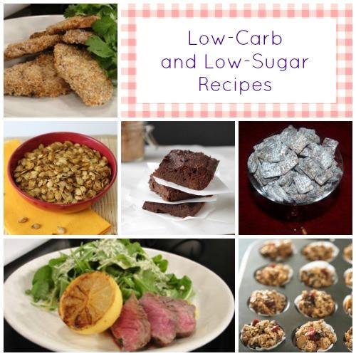 Low Carb Low Sugar Recipes  49 Recipes for Diabetics Low Sugar and Low Carb Menu