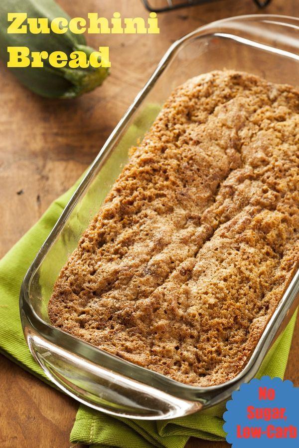 Low Carb Low Sugar Recipes  Zucchini Bread No Sugar Low Carb Recipe