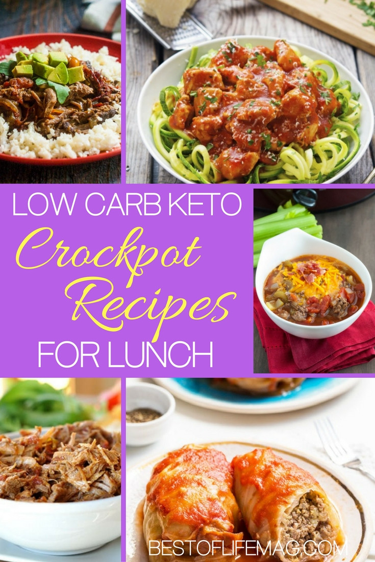 Low Carb Lunch Recipes  25 Low Carb Keto Crockpot Lunch Recipes Best of Life