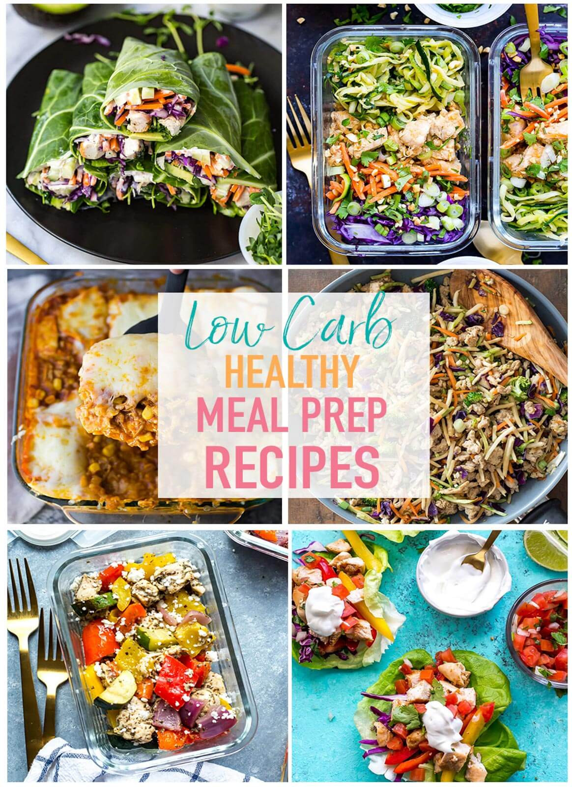 Low Carb Lunch Recipes  17 Easy Low Carb Recipes for Meal Prep The Girl on Bloor