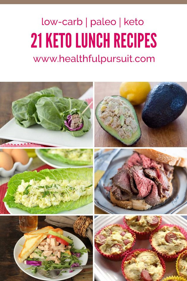 Low Carb Lunch Recipes  21 Keto Lunches