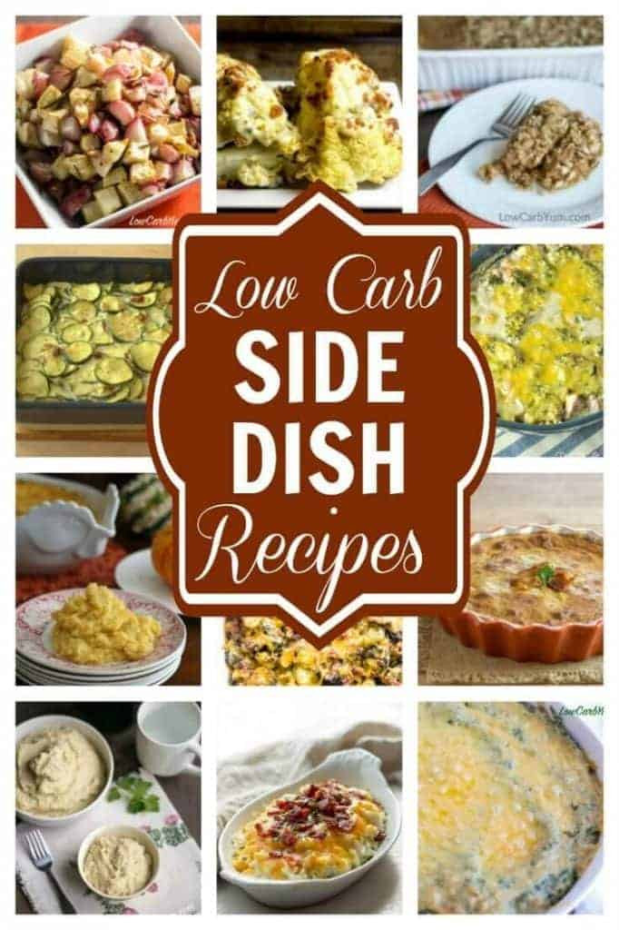Low Carb Main Dishes  Low Carb Side Dishes Perfect for any Meal