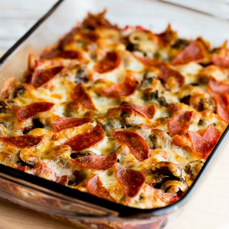 Low Carb Main Dishes  Low Carb Deconstructed Pizza Casserole Recipe Main Dishes