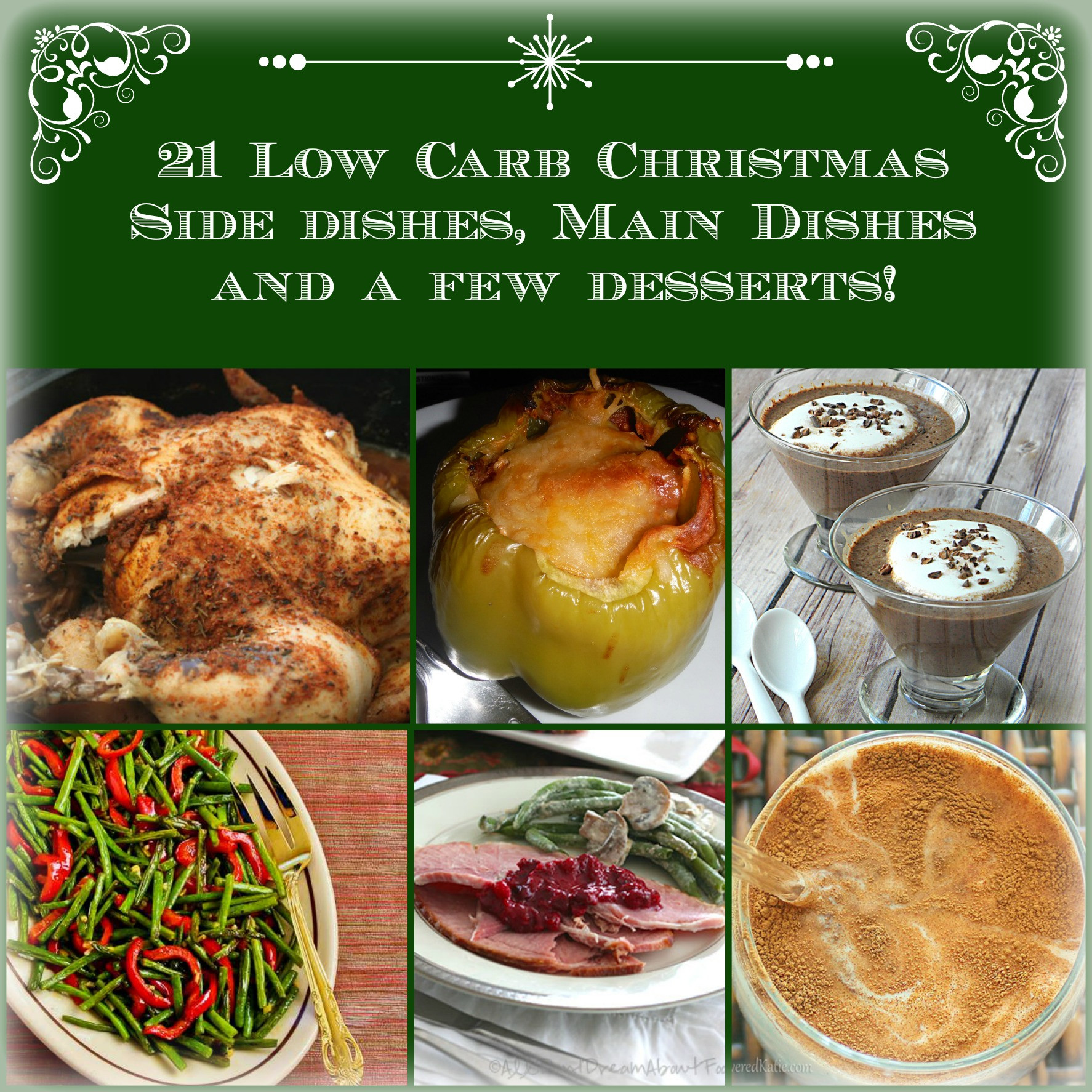 Low Carb Main Dishes  21 Low Carb Side Dishes Main Dishes & Desserts LCHF