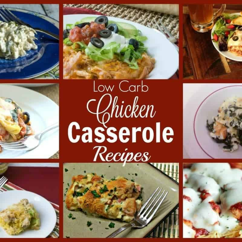 Low Carb Main Dishes  Low Carb Chicken Casserole Recipes
