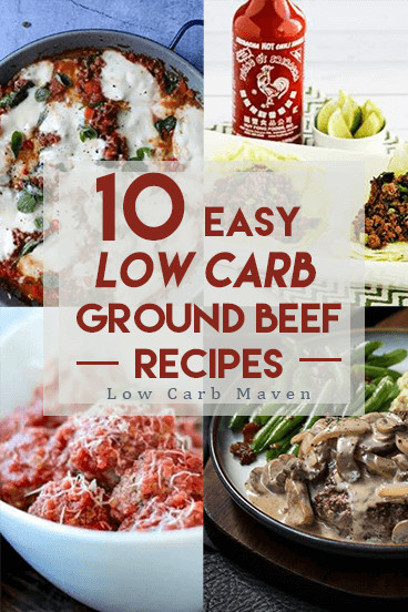 Low Carb Meals With Ground Beef  10 Easy Low Carb Ground Beef Recipes the Whole Family Will