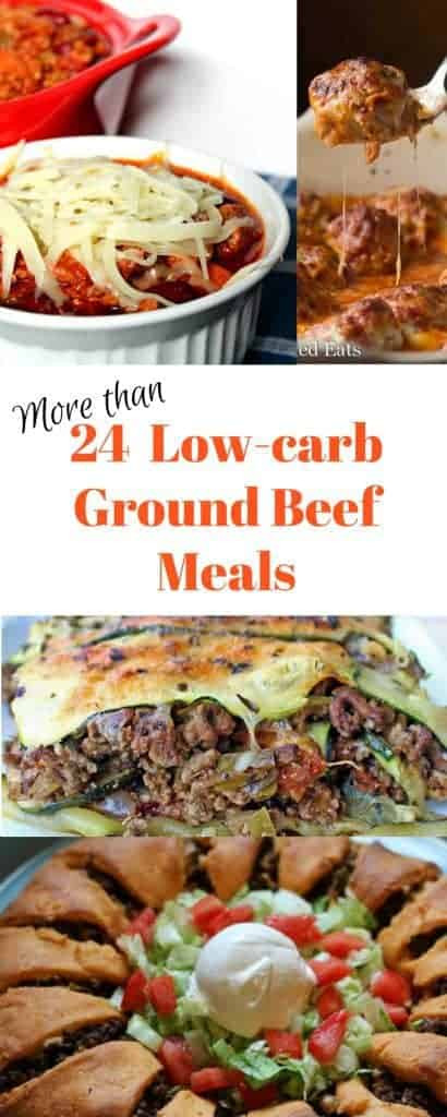 Low Carb Meals With Ground Beef  Low carb Ground Beef Recipes Satisfyingly Delicious Meals