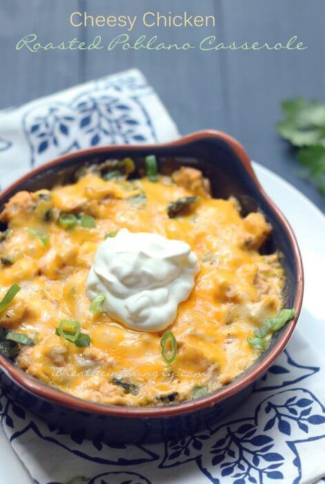 Low Carb Mexican Chicken Casserole  Cheesy Chicken Stuffed Poblanos Low Carb Recipe