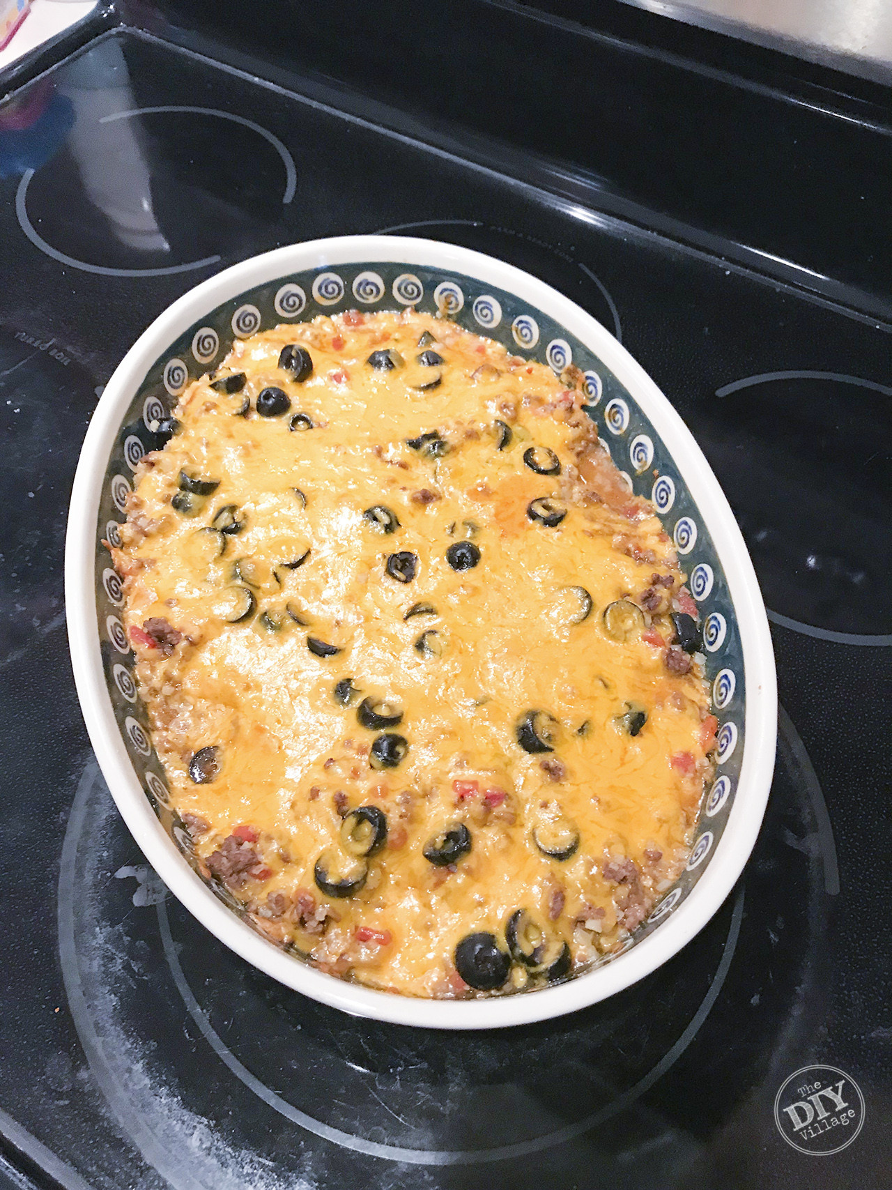 Low Carb Mexican Chicken Casserole  Low Carb Mexican Casserole Keto Friendly The DIY Village