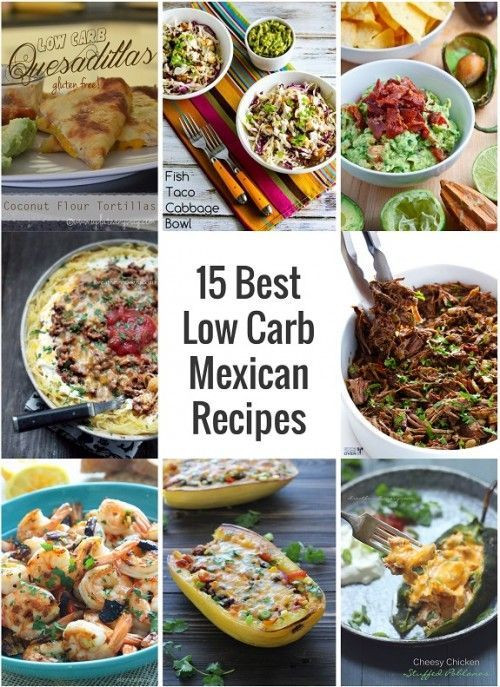 Low Carb Mexican Side Dishes  25 best ideas about Low carb mexican food on Pinterest