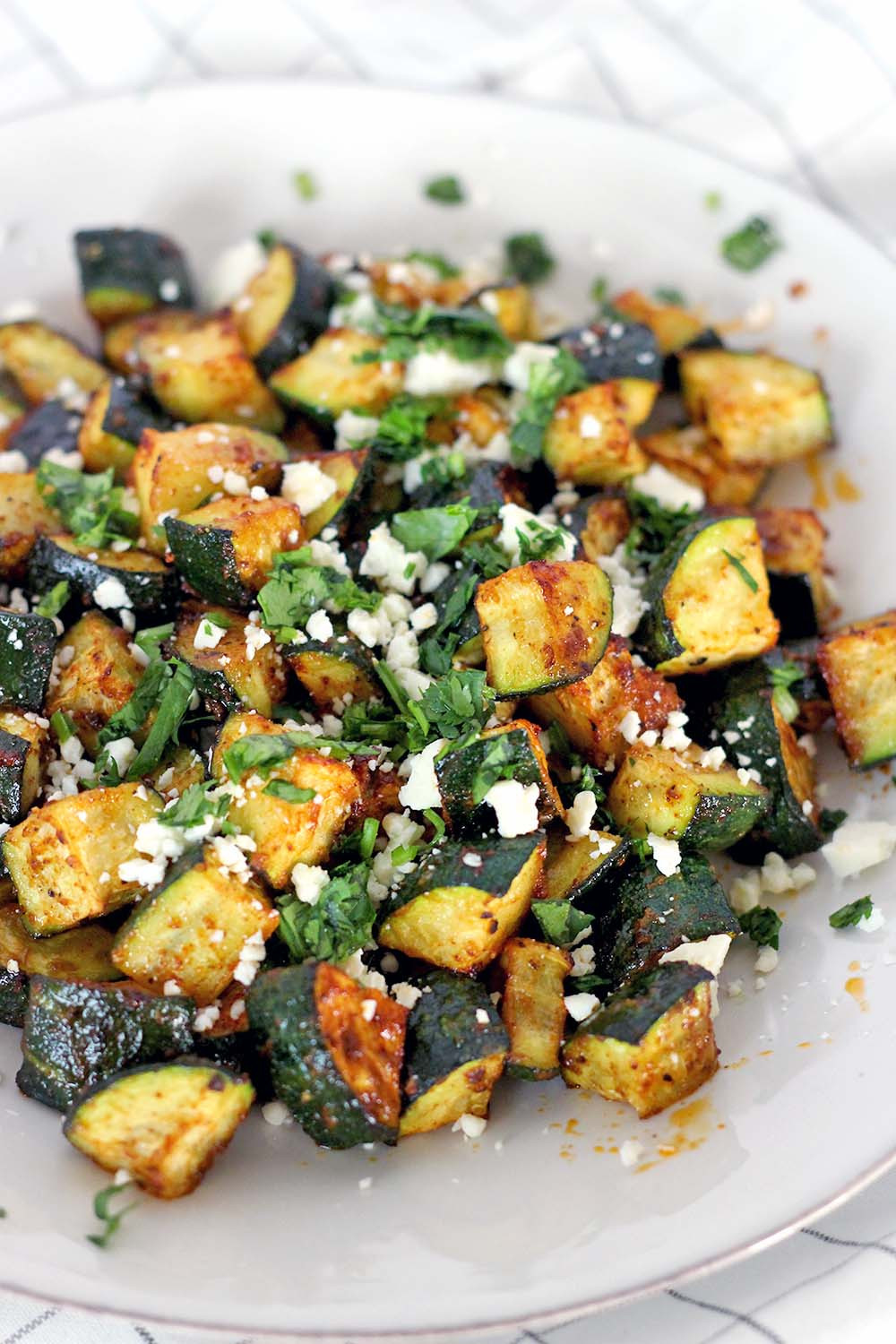 Low Carb Mexican Side Dishes  Mexican Roasted Zucchini