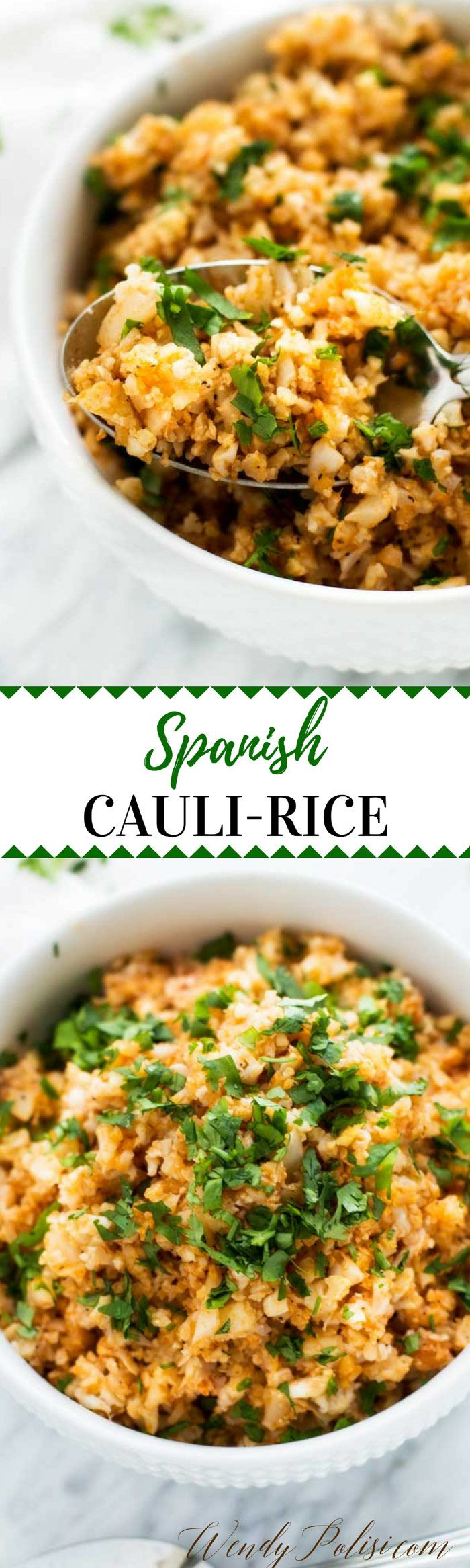 Low Carb Mexican Side Dishes  Spanish Cauliflower Rice Recipe