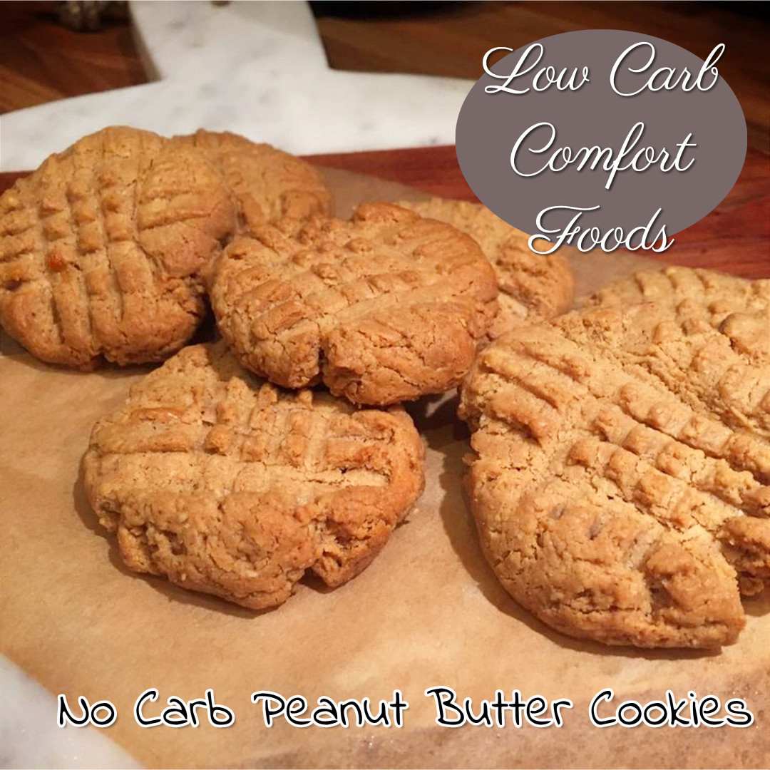 Low Carb Peanut Butter Cookies  Best Low Carb fort Food Recipes on Pinterest Easy and