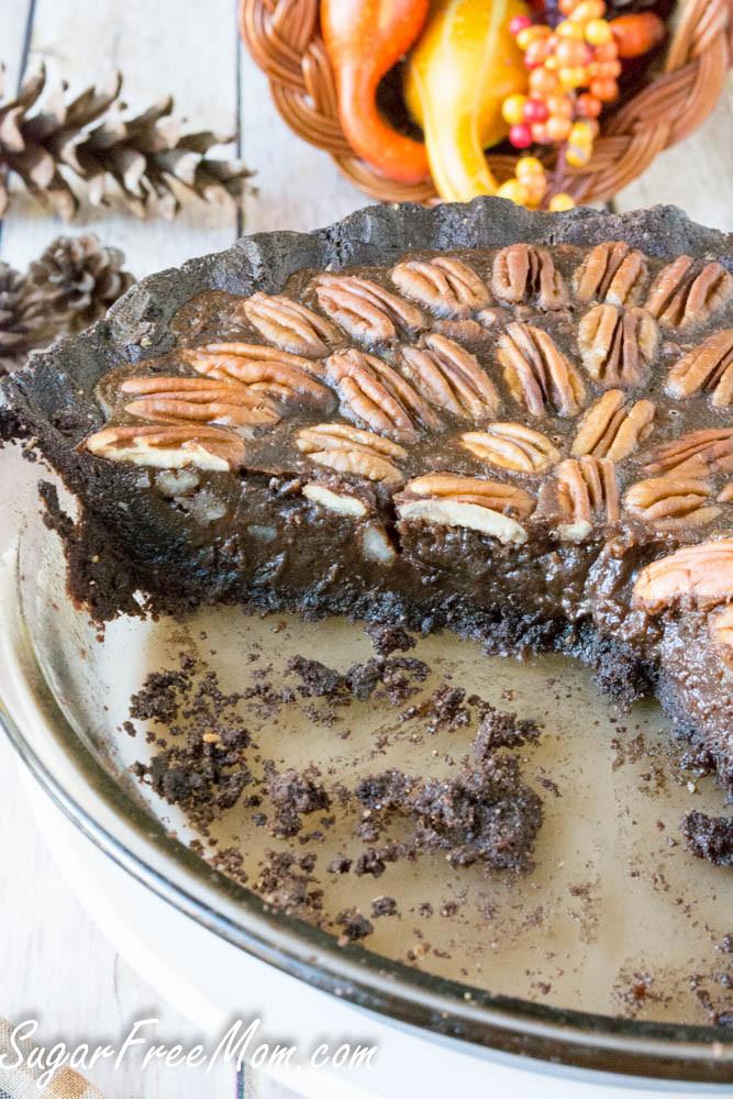 Low Carb Pecan Pie  Low Sugar Low Carb Chocolate Pecan Pie