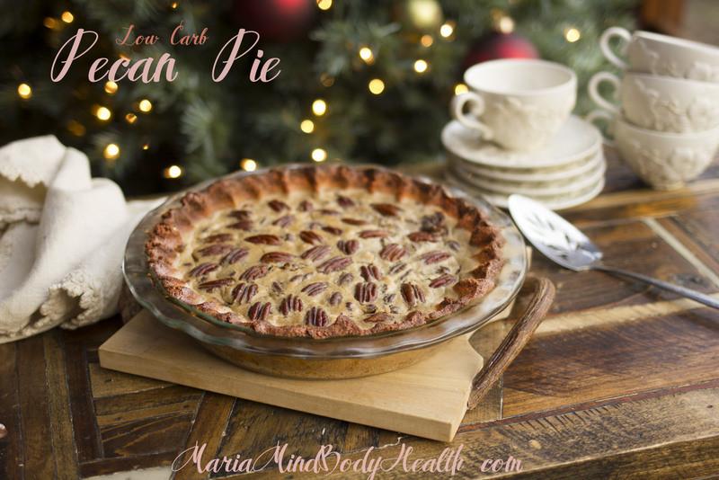 Low Carb Pecan Pie  Maria Mind Body Health