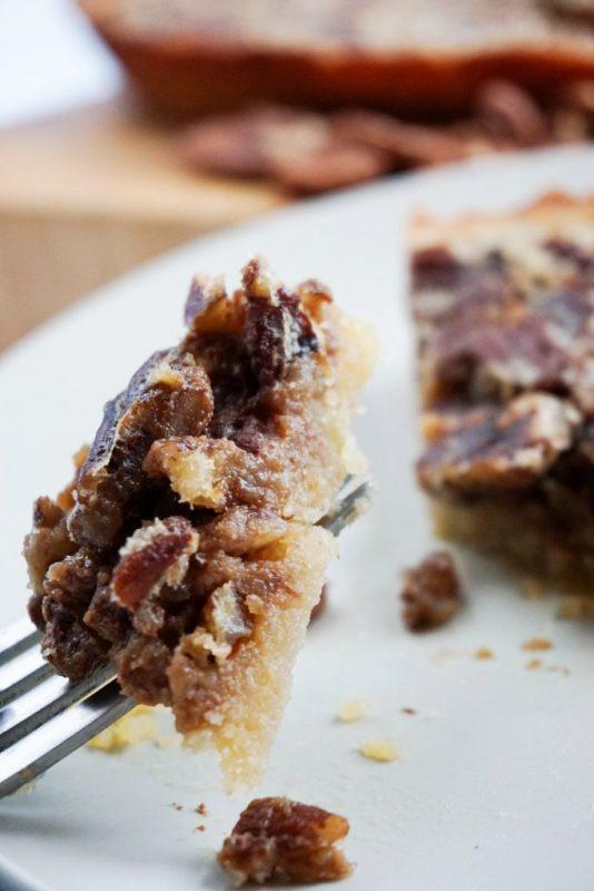 Low Carb Pecan Pie  Low Carb Pecan Pie KetoConnect