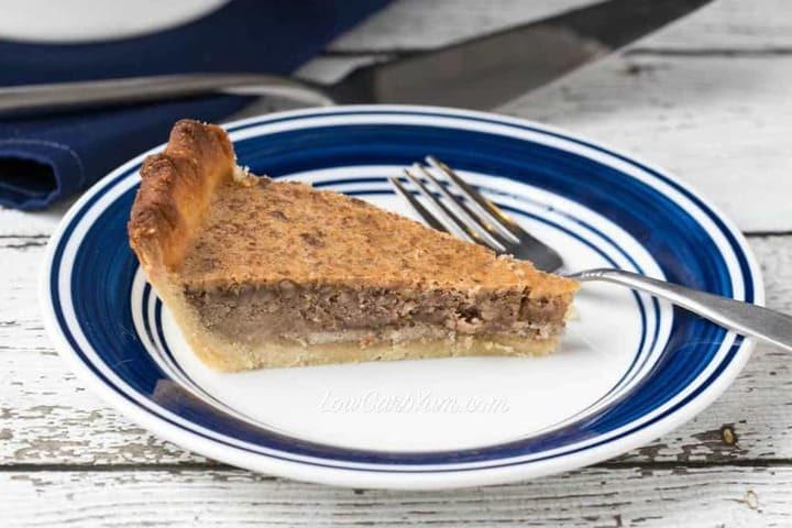 Low Carb Pecan Pie  Low Carb Pecan Pie Recipe