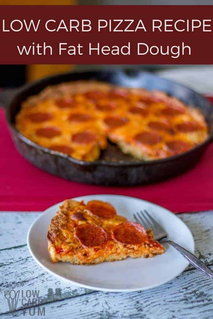 Low Carb Pizza Dough  Low Carb Pizza Recipe with Fat Head Dough